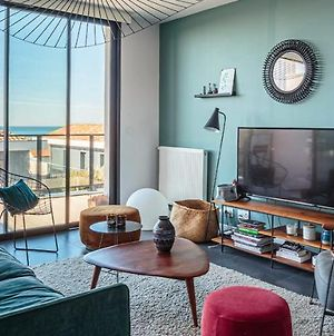 Youcca // Hondartza Apartment With Rooftop And Amazing Sea Views In Anglet photos Exterior