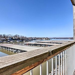 Lake Of The Ozarks Condo Balcony And Community Pool photos Exterior