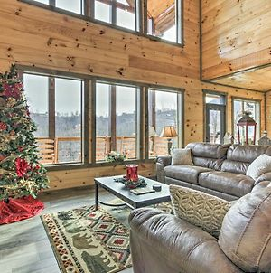 Smoky Mtn Hideaway With Hot Tub, Deck And Gorgeous View photos Exterior