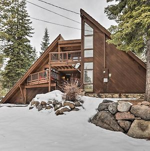 Lake Tahoe Cabin With Hot Tub - 11 Mi To Squa With Alpine! photos Exterior