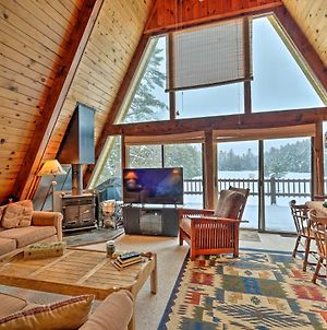 Lakefront Bolton Alderbrook Chalet With Fire Pit! photos Exterior