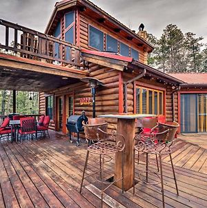 Unique Bear Country Cabin In Ruidoso With Hot Tub! photos Exterior