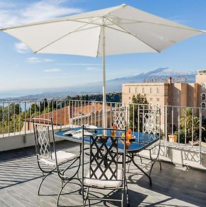 San Michele Apartment With Panoramic Private Terrace And Lift In Taormina Downtown photos Exterior