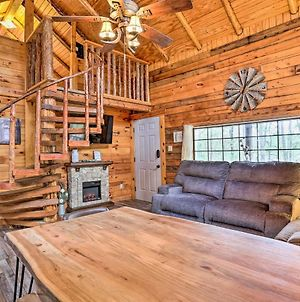 Pet-Friendly Log Cabin With Fire Pit, Pond And More! photos Exterior