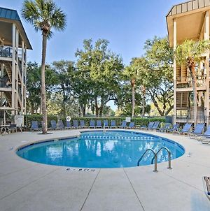 Hilton Head Haven With Pool Walk To Coligny Beach! photos Exterior