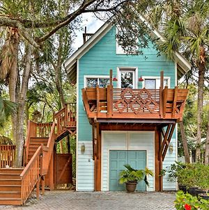 Chic Folly Beach Haven With Deck - Steps To Ocean! photos Exterior