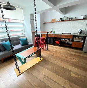 Private Modern Studio With A Cool Swing In Jose Gonzales - Miraflores photos Exterior