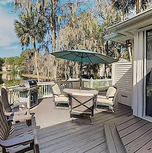 New Listing! Sea Pines Home On Lagoon W/ Deck Home photos Exterior