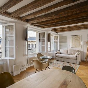 Cosy & Bright Under The Beams On Place Dauphine Id 319 photos Exterior