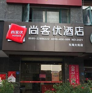 Thank Inn Chain Hotel Fujian Quanzhou Fengze District Donghai Street photos Exterior