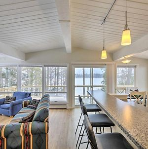 Lakefront Home With Deck, 8 Mi To Rhinelander! photos Exterior
