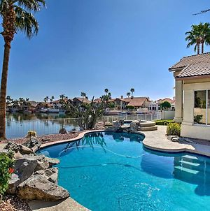 Lakefront Home With Pool, Hot Tub, And Boat Dock! photos Exterior