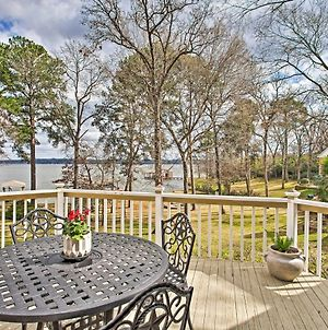 Large Waterfront Lake Palestine Home With Deck & Dock photos Exterior