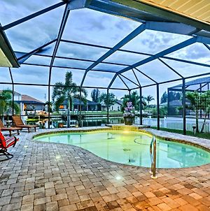 Cape Coral House With Private Dock, Pool And Tiki Bar! photos Exterior
