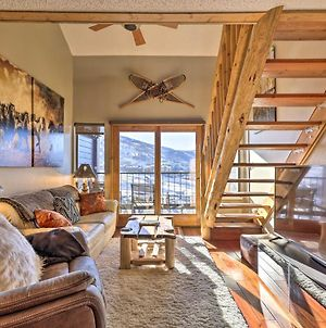 Steamboat Ski Getaway With Balcony And Mtn Views! photos Exterior