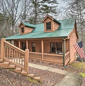 Lakeside Retreat In Ellijay With Game Room And Grill! photos Exterior