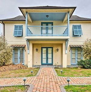 Baton Rouge Area House With Balcony And Pier Access! photos Exterior