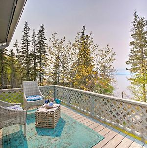 Bayfront Designer Home W/ Deck+Private Beach! photos Exterior