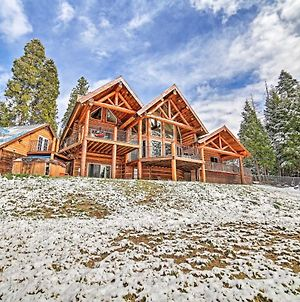 Luxe Log Cabin With Hot Tub, Event And Pet Friendly! photos Exterior