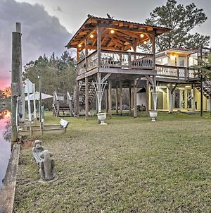 Bay St Louis House With Boat Dock On Breath Bayou! photos Exterior