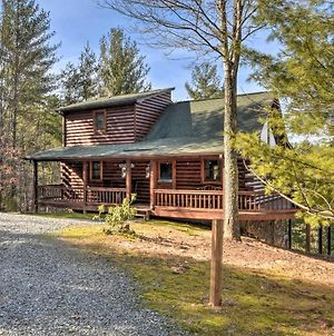 Charming Cabin With Hot Tub - 13 Miles To Blue Ridge photos Exterior