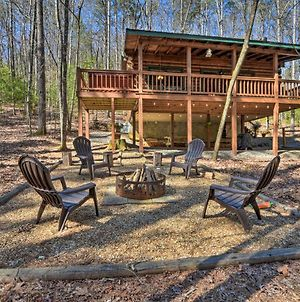 Quiet & Cozy Cherry Log Cabin With Hot Tub & Fire Pit photos Exterior