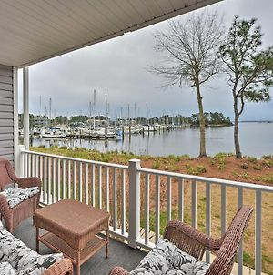 New Bern Waterfront Condo With Dock Access! photos Exterior