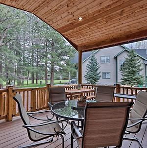 Pinetop Golf Course Home With Furnished Deck! photos Exterior