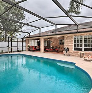 Pet-Friendly Deltona Home With Yard, Heated Pool photos Exterior