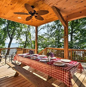 Lakefront Rutledge Cabin With Fire Pit And Private Dock photos Exterior