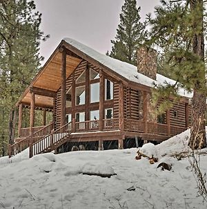 New Meadows Log Cabin On 9 Acres - Near Brundage! photos Exterior