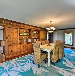 Riverfront Blounts Creek Home With Dock And Beach! photos Exterior
