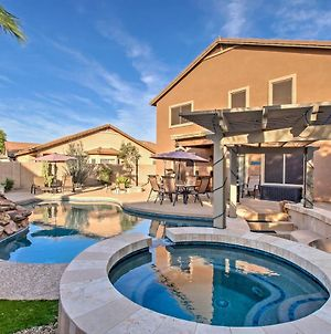 Home With Waterfall Pool & Hot Tub In San Tan Valley! photos Exterior