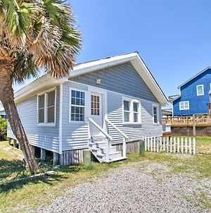 Oak Island Home With Deck & Grill-Steps To Ocean photos Exterior