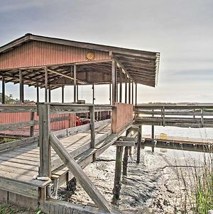 Waterfront Colonels Island Home Boat Slip And Dock! photos Exterior