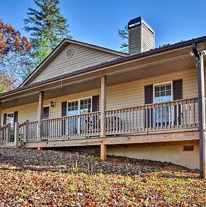 Blairsville Home With Deck And Stunning Mountain Views photos Exterior