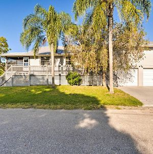 Canalfront Home With Private Dock - 5 Mi To Beaches! photos Exterior