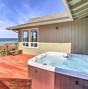Oceanfront Home With Seal Rock Beach Access, Hot Tub photos Exterior