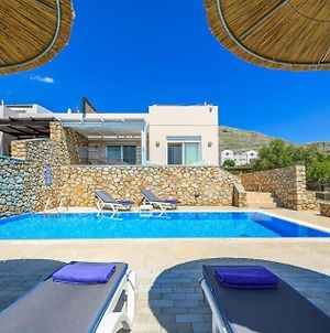 Lindos Villa Sleeps 6 Pool Air Con Wifi photos Exterior