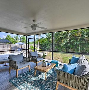 Chic Beach House With Lanai And Private Yard! photos Exterior
