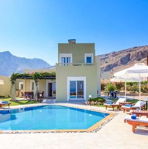 Lindos Villa Sleeps 8 Pool Air Con Wifi photos Exterior