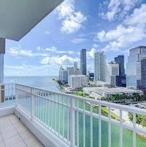 Beautiful Miami Brickell Key 2 Bedroom 2 Bathroom Apartment In The Sky 4 Guests photos Exterior