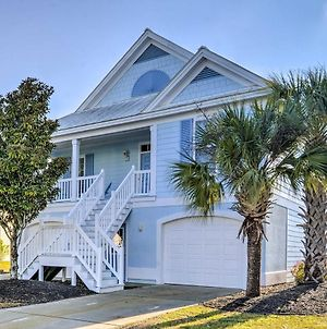 Surfside Beach Home With Lake View And Golf Carts! photos Exterior