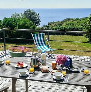 House With 5 Bedrooms In Moelansurmer With Wonderful Sea View Furnished Garden And Wifi 200 M From The Beach photos Exterior