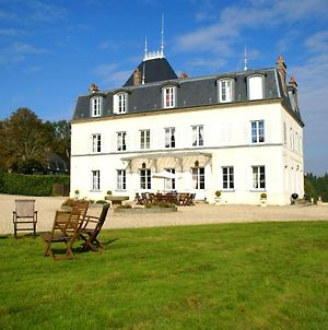 Heritage Castle In Asnieres With Garden photos Exterior