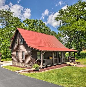 Rustic Log Cabin With Screened Deck, 8Mi To Dollywood photos Exterior