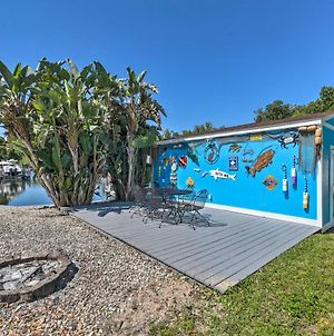 Colorful Canalfront Home With Boat Dock And Yard! photos Exterior