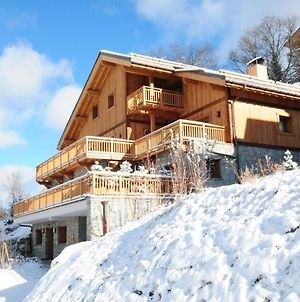 Chalet Hermine Blanche Luxury Chalet Close To City Center Sauna & Jacuzzi photos Exterior