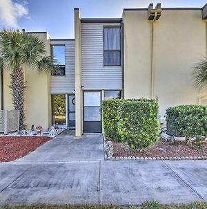 Ormond Beach Townhome With Grill And Shared Pool! photos Exterior