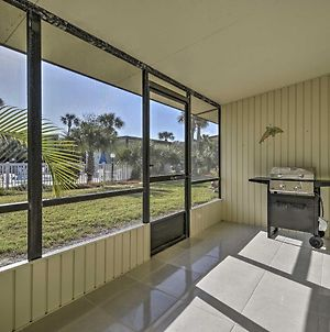 Ormond Beach Townhome With Grill & Shared Pool! photos Exterior